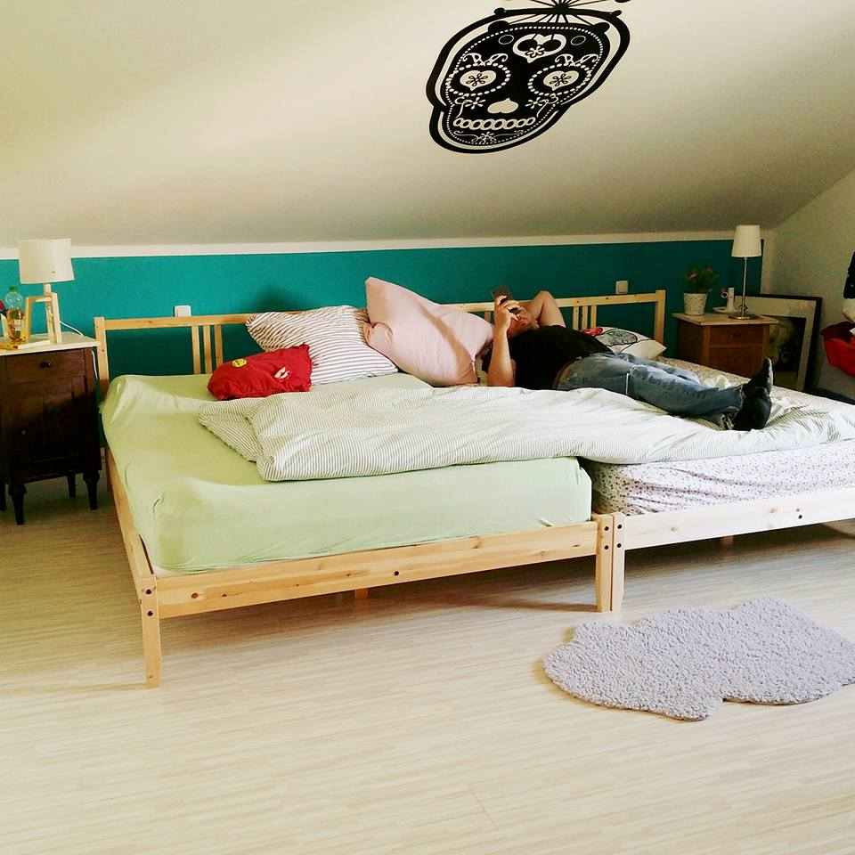 Matratzenlager familienbett  Fotogalerie - Familienbetten