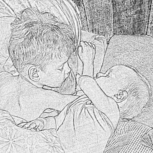Familienbett und neues Baby