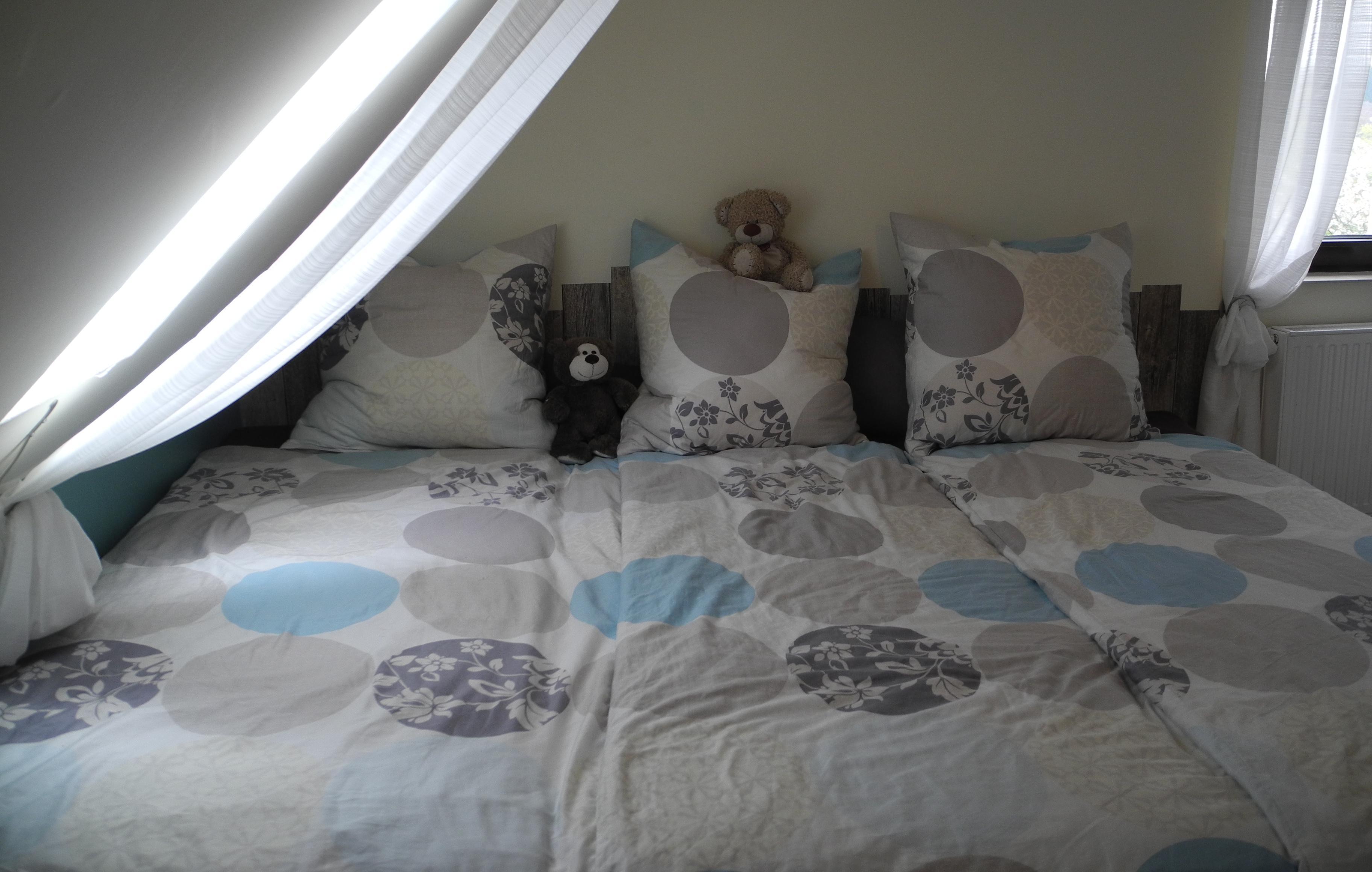 Familienbett Bauanleitung - 270 cm Familienbett aus zwei Betten
