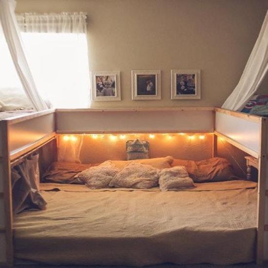 familienbett bauen. Black Bedroom Furniture Sets. Home Design Ideas