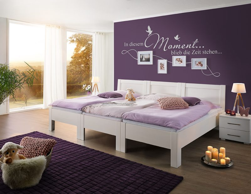 kreieren sie sich ihr individuelles familienbett. Black Bedroom Furniture Sets. Home Design Ideas