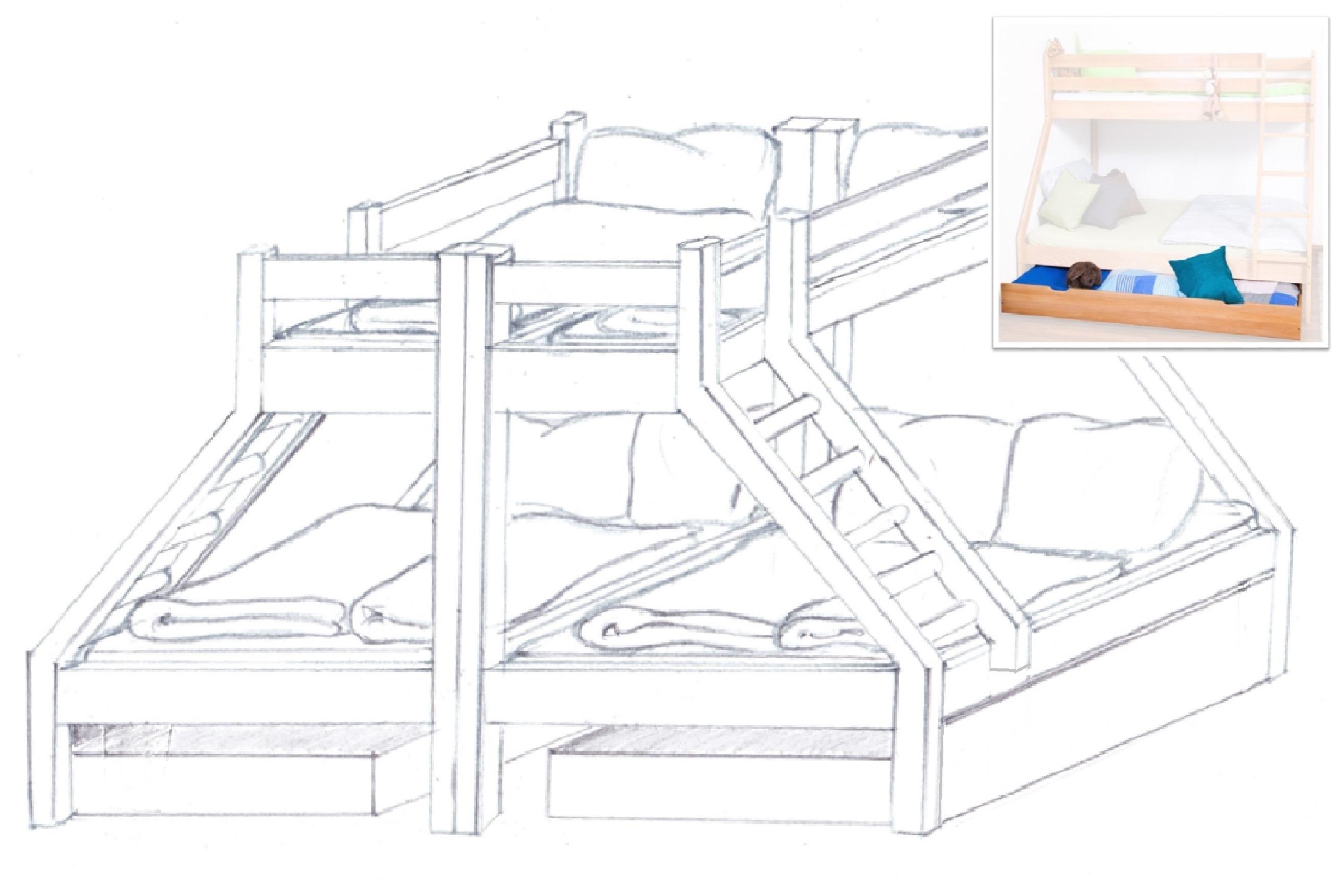 Eine Gross Familienbett Idee Familienbetten